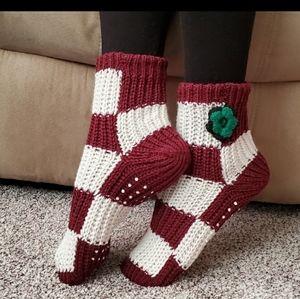 Wine Slipper Socks